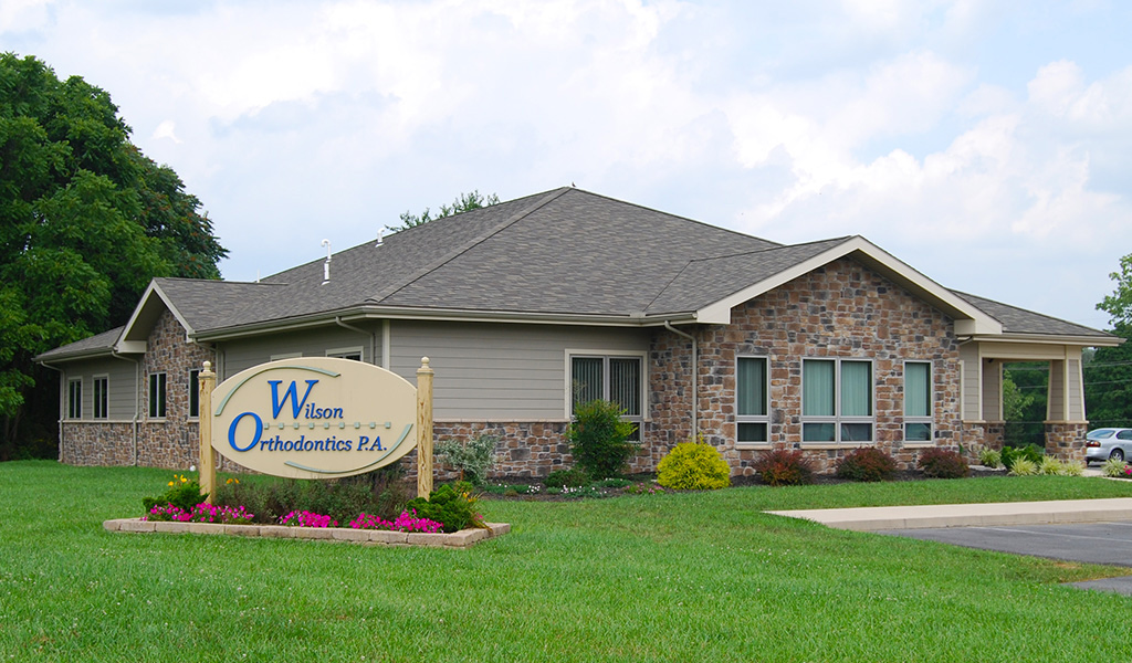 Exterior of Wilson Orthodontics office