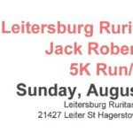 5k run/walk logo